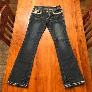 Rose Royce Boot Cut Blue Jeans Size 29